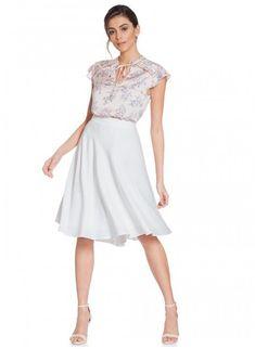 e31fa7675 Blusa Feminina Floral Rosê Principessa Alaiane