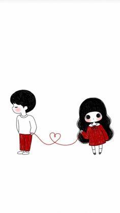 ʚɞˡºᵛᵉpanxia Colourful Acrylic Nails, Cartoon Photo, Couple Cartoon, Love Wallpaper, Anime Art Girl, Cute Love, Cute Wallpapers, Cute Couples, Stationary