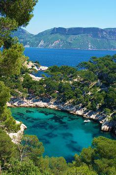 Calanque de Port Pin, Cassis, France