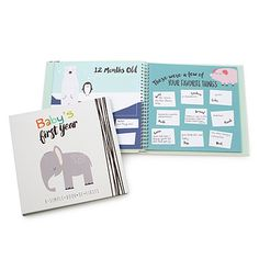 Look what I found at UncommonGoods: Baby's First Year Memory Book for $35 #uncommongoods