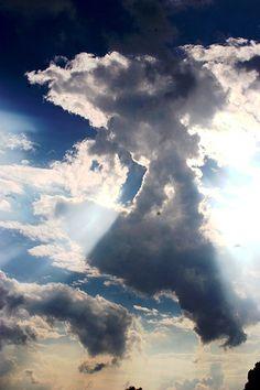 Sunlight through Clouds.