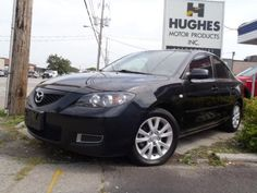 2008 Mazda 3 Intermittent Wipers, Power Windows, Privacy Glass, Running Boards, Variable Speed Intermittent Wipers, A/C, Adjustable Steering Wheel, AM/FM Stereo, Bucket Seats, CD Player, Cloth Seats, Leather Wrapped Steering Wheel, MP3 Player, Pass-Through Rear Seat, Power Steering, Premium Sound System, Traction Control, Trip Computer.  #usedcar #used cars Hughes Motor Products 416-252-1100 | info@hughesmotorproducts.com