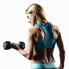 Rock the shoulder-baring outfit of your choice with dumbbell moves that target your triceps, deltoids, biceps, and pecs. - Shape.com