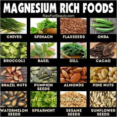 """""""Magnesium helps maintain muscles, nerves, and bones, and studies have shown that a diet rich in magnesium may help protect against metabolic syndrome, a combination of risk factors that can lead to diabetes and heart disease. It promotes normal blood pressure, and is known to be involved in energy metabolism"""" BY: God's Garden of Eden"""