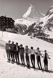 vintage alpine ski pictures - Google Search