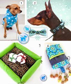 Geschenke für Hunde nähen: Bett, Halsband und Hoodie