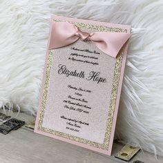Forward to a friend created quinceanera planning Quince Invitations, Quinceanera Invitations, Quinceanera Party, Pink Invitations, Elegant Invitations, Quinceanera Planning, Princess Invitations, Quinceanera Dresses, Satin Roses