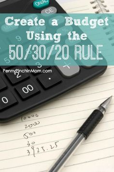 A popular type of budget is the 50/30/20 rule. It can be a bit confusing to understand, so we show you how to make this type of budget work for you!