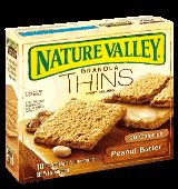 This cannot be remotely healthy, can it??? It tastes like a Butterfinger! Yum!    Granola Peanut Butter #Nature Valley