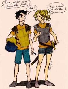 PJO Challenge Day 5: Favourite female character: Annabeth Chase. Who doesn't love her?