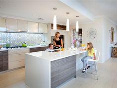 kitchen renovation with window splashback - Google Search