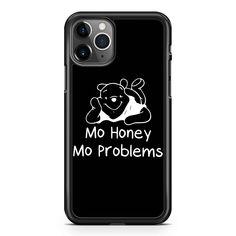 Winnie The Pooh Mo Honey Mo Problems  iPhone 11 / 11 Pro / 11 Pro Max Case