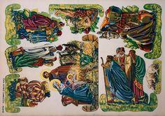 Papermau: Christmas Time - Casa Editrice Carroccio Nativity Set - by Svatava Vizinová - via Paper Model Kiosk