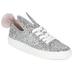 Designer Clothes, Shoes & Bags for Women Metallic Shoes, Metallic Leather, Leather Trainers, Leather Sneakers, Shoes Sneakers, Keds, Slip On, Shoe Bag, Stylish