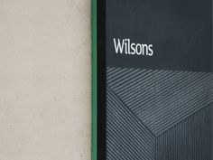 Wilsons sign detail