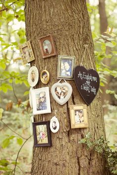 Photo Tree Album Whimsical Woodland Autumn Wedding http://www.rebeccaweddingphotography.co.uk/