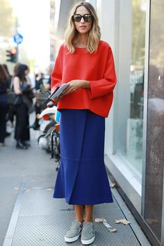 Seeing Red: How to Wear Spring's Hottest Color: Red On Top: Sweater