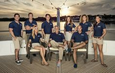 Below Deck season 3 cast photos, cast bios, and trailer. Captain Lee Rosbach, Kate Chastain, Amy Johnson, and Eddie Lucas return for more drama on the seas.