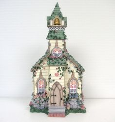 "Artist Susan Reader's Collectible Ivy & Innocence ""All Faith Chapel"" with Box"