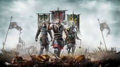 Download For Honor Samurai Viking and Knight 4k Wallpaper 3840x2400