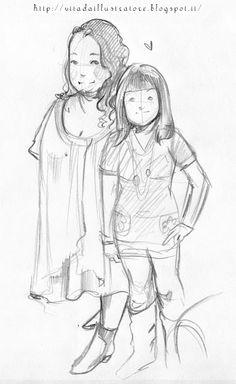 Vita da illustratore: Sketch time