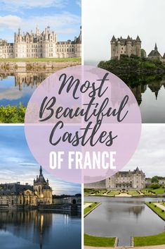 Find out more about the most beautiful castles in France: Loure Valley castles. How to arrange a day trip to Loire Valley from Paris. Best Vacation Destinations, Europe Destinations, Best Vacations, Family Holiday Destinations, Vacation Ideas, Europe Travel Guide, France Travel, Travel Guides, Travel Info