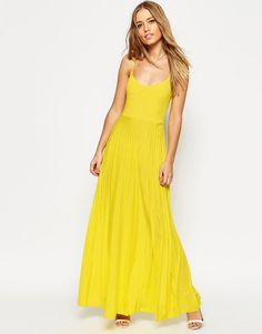 This yellow maxi dress is one of my new favourites. I believe it works best with a blue blazer or a white one. I might wear sandals or even a gold belt