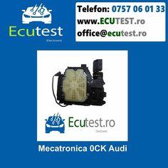 Reparatii electronice mecatronica cutiei automate 0CK Audi. #ClujNapoca #Cluj #Romania #Mecatronica #CutiiAutomate #Electronica #Audi #0CK #TCU #ecutest - testare mecatronica - reparatie de natura electronica si hidraulica a mecatronicii - reprogramari software - update software - clonari software Contacteaza-ne : Tel : 0757 06 01 33 www.ecutest.ro Audi, Software, Model, Scale Model, Models, Template, Pattern, Mockup