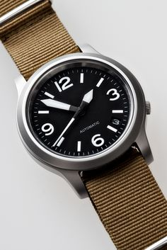 "Why not take a peek at the ""Christopher Ward"" website for watches of excellent quality at decent prices? I have two CW watches, and they're really. Seiko Military Watch, Seiko Snk809, Cool Watches, Watches For Men, Seiko Mod, Seiko Watches, E 10, Beautiful Watches, Everyday Carry"