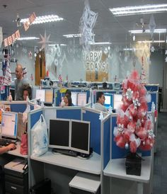 The 21 best Creative Office Christmas Decorating Ideas images on ...