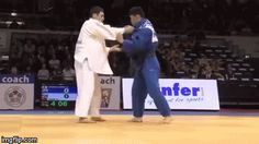 Juji Gatame — Such a great combo: Kosoto-gake to Tai-otoshi!