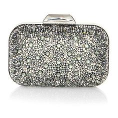 Jimmy Choo Cloud Crystal Clutch (£2,340) ❤ liked on Polyvore featuring bags, handbags, clutches, handbags clutches, jimmy choo handbags, jimmy choo, clasp purse and clasp handbag