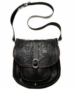 Patricia Nash Handbag, Tooled Barcelona Crossbody