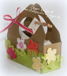 Little Basket of Petite Petals for a Spring or Summer Picnic