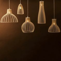 Lighting Range by Minima Minima's new range of light coverings throw shadows rather than provide shade. Made from Austrian birch plywood,. Home Lighting, Modern Lighting, Lighting Design, Ceiling Lighting, Wood Pendant Light, Pendant Lighting, Lampe Laser, Laser Cut Lamps, Blitz Design