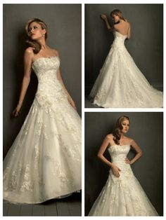 Tulle Strapless Ball Gown Sleeveless Wedding Dress