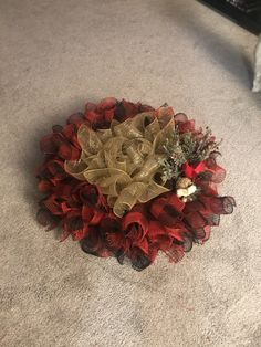 Buffalo Plaid, Burlap Wreath, Wreaths, Projects, Home Decor, Log Projects, Homemade Home Decor, Door Wreaths, Deco Mesh Wreaths