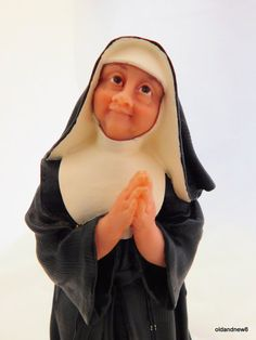 Sister Mary Reverent Happy Habits Nun by Deb Wood by oldandnew8