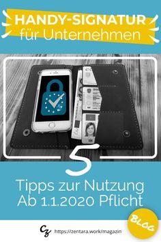 Ab 01.01.2020 Pflicht zur E-Zustellung und Handy-Signatur in Österreich. Die digitalen Identität ist für Unternehmen notwendig, um z.B. E-Zustellungen zu empfangen. #businesstipps #österreich #handysignatur #unterschrift #signatur #identität #business
