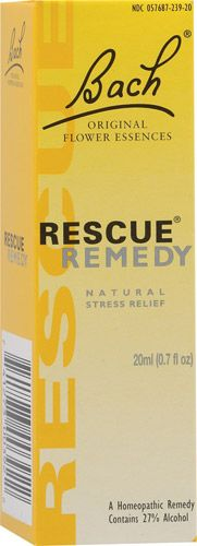 Bach Flower Remedies Rescue Remedy Natural Stress Relief -- super puffy heart love!!  #setandsave
