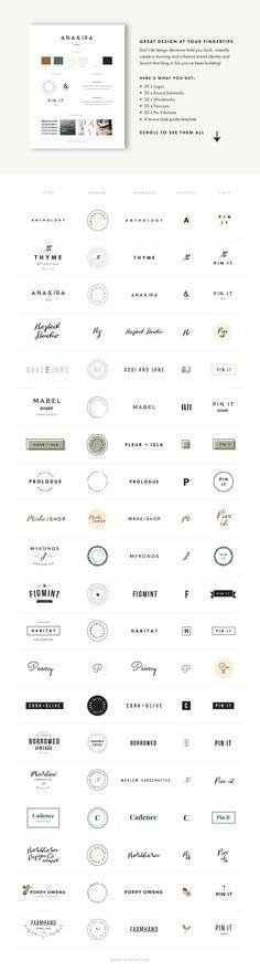 Ladypreneur Branding Kit by Station Seven on @creativemarket
