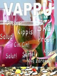 Kuvahaun tulos haulle vappu Make You Smile, Cheer, Alcoholic Drinks, Wine, Make It Yourself, Glass, How To Make, Funny Stuff, Food