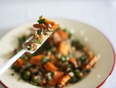 sw potato brown rice salad
