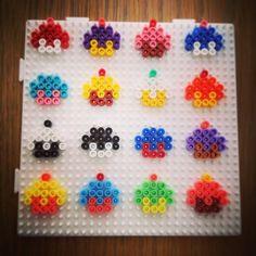 Cupcakes hama beads by tvinni_