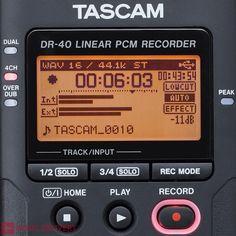 TASCAM DR 40 DIGITAL RECORDER PCM / MP3 SD CARD USB #digital recorder #multi track #tascam #mp3 recorder