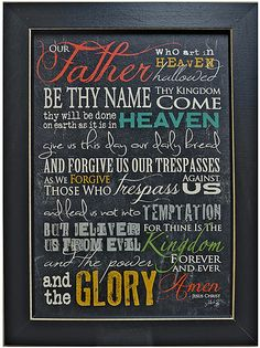 The Lord's Prayer - Kruenpeeper Creek Country Gifts