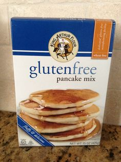 King Arthur Gluten Free Pancake Mix makes perfect pancakes!