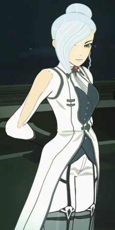 Winter Schnee is Weiss Schnee's elder sister, and a specialist in the Atlesian Military's Special Operatives unit. Character Outfits, Character Art, Rwby Winter, Anime Crafts, Tumblr, Happy Moments, Drawing People, Me Me Me Anime, Disney Characters