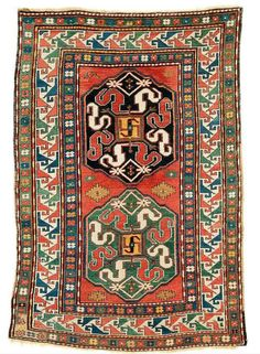Lot 174, Chondzoresk, Karabagh, 212 x 138 cm. Circa 1900.