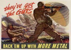 Affiche de la seconde guerre mondiale  ils ont les par Imagerich